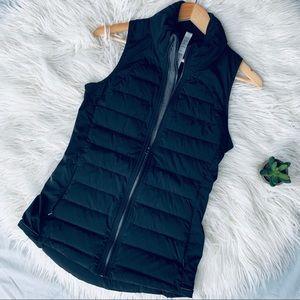 LULULEMON black puffer vest full zip